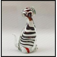 Buy cheap Glass small cat with stripe product