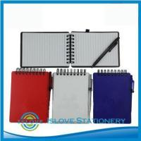 Buy cheap Custom Composition Plastic Cover Promotional Notepad with ball pen product