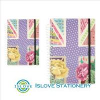 Buy cheap PP Cover spiral card board notebook product