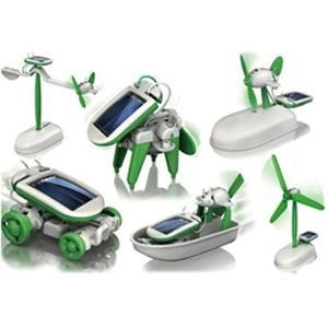 Quality DIY 6 in 1 KIT Solar toys for sale