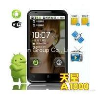Buy cheap 2011 New A1000 android 2.2 cellphone quad-band dual sim 4.3 touch screen wifi TV product