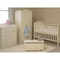 Buy cheap Tutti Bambini Alexia Toy Box in Vanilla FREE DELIVERY product
