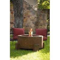 China 38 Inch Round Cor-Ten Steel Fire Pit on sale