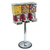 China Tough Pro Triple Vend Gumball Machine with Chrome Stand on sale