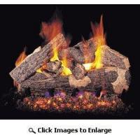 China Real Fyre Rugged Split Oak Complete Gas Log Set 18 Inch Inch Natural Gas / Propane Vented on sale