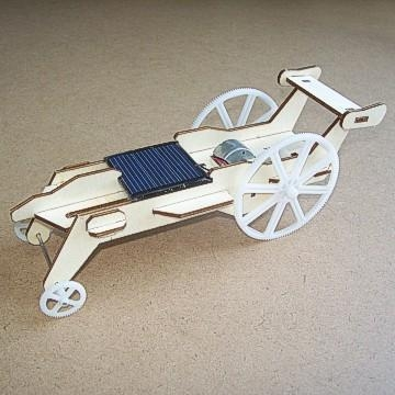 Quality solar toys Plywood Solar Car (DIY Accessory Parts) for sale