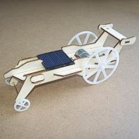 Buy cheap solar toys Plywood Solar Car (DIY Accessory Parts) product