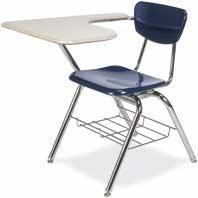 Buy cheap Tablet Arm Chair Desk - VIRCO Model 3700BR product