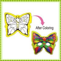 DIY Painting Toy butterfly mask
