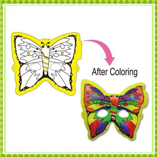 Quality DIY Painting Toy butterfly mask for sale