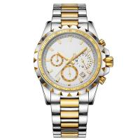 Buy cheap Chronograph Men Watch with Swiss movt from wholesalers