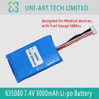Buy cheap medical 635080 3000mAh 1 from wholesalers