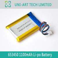 Buy cheap payment 653450 1100mAh from wholesalers