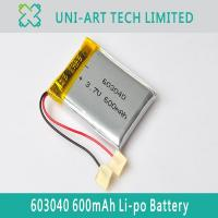 Buy cheap digital GPS 603040 600mAh from wholesalers