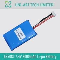 Buy cheap Functional 635080 3000mAh from wholesalers