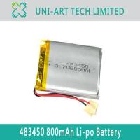 Buy cheap digital GPS 483450 800mAh from wholesalers