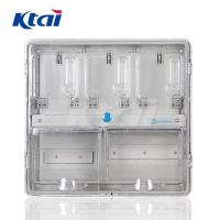 China Best price low price single phase bypass plastic electric meter box KT-301K on sale