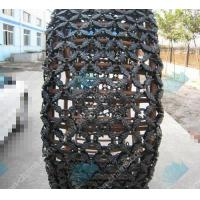 China Steel custom 14.00-24 tractor tire chains for quarry on sale