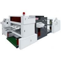 Buy cheap 320times/min Paper Die Punching Machine , Flat Bed Die Punching Machine With Flexo Printer product