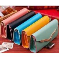 Buy cheap PU Leather Women Wallet Lady Wallet Men Credit Card Wallet product