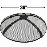 China 36 INCH FIRE SCREEN  FIRE PIT COVER  FIRE SCREEN PROTECTOR on sale