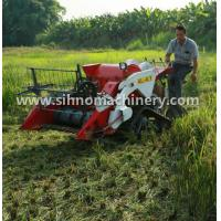 Buy cheap 4LZ-0.7 mini wheat combine harvester for crawler or Tyre wheel from wholesalers