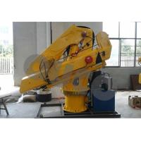 Buy cheap 2T Small Folding Telescopic Boom Cranes Knuckle Boom Hydraulic Crane from wholesalers