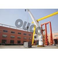 Buy cheap 5T Stiff Boom Crane Marine Crane Pedestal Crane from wholesalers