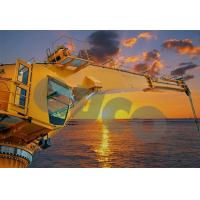 Buy cheap Offshore Crane 40m Long Boom Crane Marine Hydraulic Deck Crane Machine from wholesalers