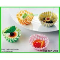 Buy cheap Disposable Paper Baking Cake Moulds Paper Loaf Pans product