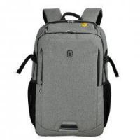 Buy cheap Business Cotton Linen Texture Backpack Large Capacity Laptop Backpack Medium Size product