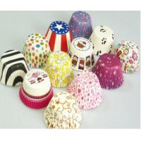 Buy cheap Easy and Fast Blue Colored Cupcake Liners Parchment Paper Baking Cups product