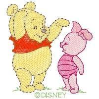 Buy cheap Design Categories 200811012 Baby Pooh & Baby Piglet from wholesalers
