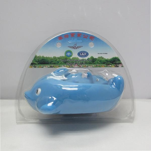 Quality Vinyl bath toy set in Dolphin shape for sale