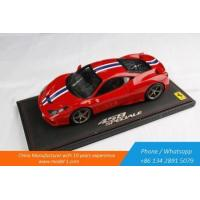 Buy cheap Car Models 1 18 Scale Diecast Car Model for Ferrari 458 Speciale product