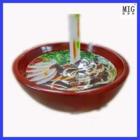 Buy cheap toy super bowl of noodle statue ad shop decoration product