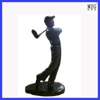Buy cheap super golf man as decoration product