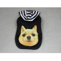 Quality Cute Pet Hooded Pocket Jacket Dog Clothes Black YP003 for sale