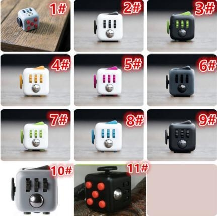 Quality Best Fidget Toy Cube Anti Stress for sale