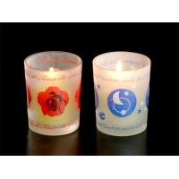 Buy cheap 300ml Glass Candle Holder product