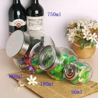 Buy cheap 50ml 180ml 800ml glass jar for candy wholesale product