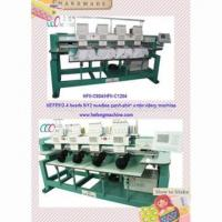 China Multipurpose 4 Heads Cap / T-shirt Embroidery Machine on sale