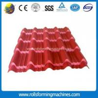 Buy cheap Roofing Colored Glazed Tile Cold Roll Forming Machine from wholesalers