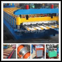 Buy cheap Trapezoidal Colored Cold Steel Sheet Forming Machine product