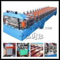 Buy cheap Production Line For Sandwich Panels,Steel Roof Cold Roll Forming Machine product