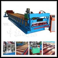 Buy cheap cold roll forming line,aluminum roof machine from wholesalers