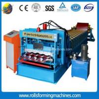Buy cheap Glazed Tile Steel Roofing Sheet Cold Roll Forming Machine from wholesalers