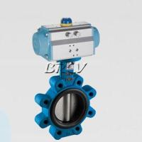 Buy cheap Pneumatic lug type valve product