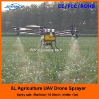 Buy cheap Professional Carbon Fiber Agriculture uav crop sprayer drone,GPS WIFI RC Control UAV/drone crop spra product