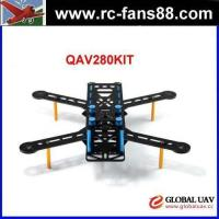 Buy cheap FC QAV280 Carbon Fiber 4-Axle FPV Quadcopter Frame Kit 4-Axle RC drone fixed wing uav product